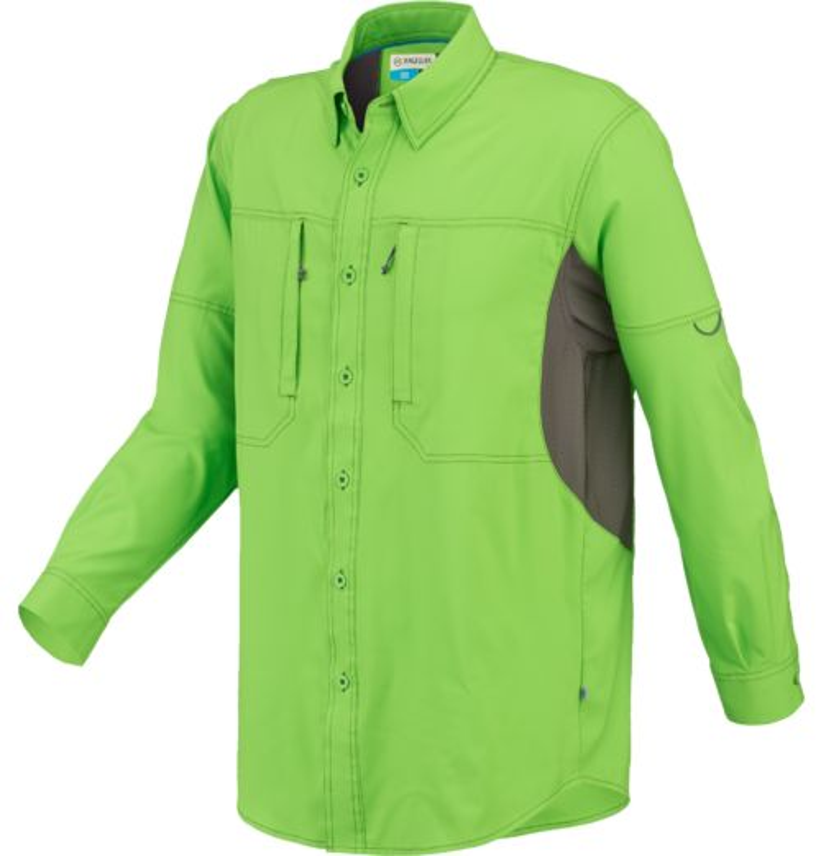 Image for magellan outdoors men 39 s fish gear long sleeve for Magellan fishing pants