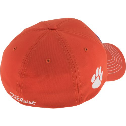 Clemson Fitted Hat: Titleist Adults' Clemson University Fitted Collegiate Cap