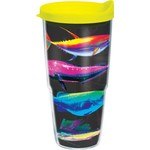 Tervis Salt Life Neon Fish 24 oz. Tumbler with Lid