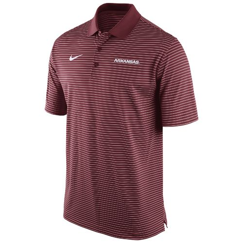 Nike Men's University of Arkansas Stadium Performance Polo Shirt