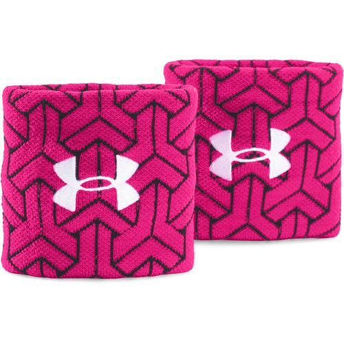 Under Armour Men's PIP Jacquard Wristbands 2-Pack