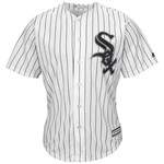 Majestic Men's Chicago White Sox Melky Cabrera #53 Cool Base® Home Jersey - view number 2