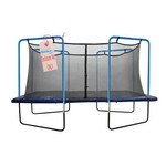 Upper Bounce® 13' Replacement Safety Net with Straps on Top for 4-Arch Trampoline - view number 1