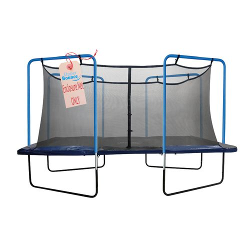 Upper Bounce® 13' Replacement Safety Net with Straps on Top for 4-Arch Trampoline