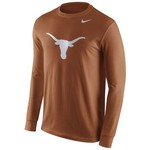 Nike Men's University of Texas Long Sleeve Logo T-shirt