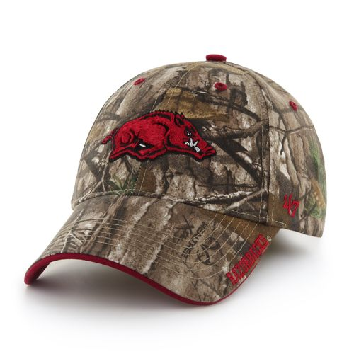 '47 Men's University of Arkansas Realtree Frost Camo MVP Cap