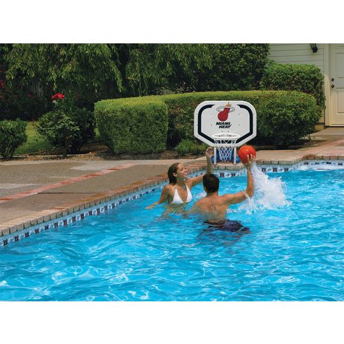 Poolmaster® Miami Heat Pro Rebounder Style Poolside Basketball Game - view number 2
