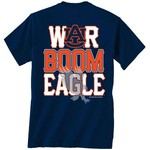 New World Graphics Men's Auburn University Boom Town Short Sleeve T-shirt