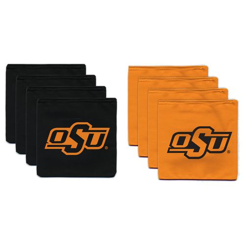 BAGGO® Oklahoma State University 9.5 oz. Replacement Beanbag Toss Beanbags 8-Pack