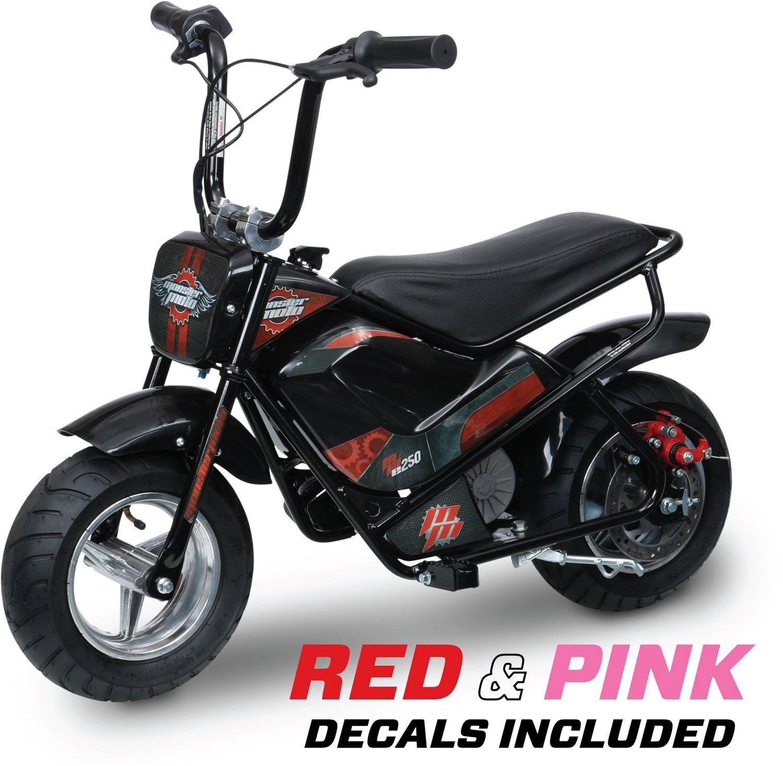 Monster Moto Kids' MME-250 Electric Mini Bike
