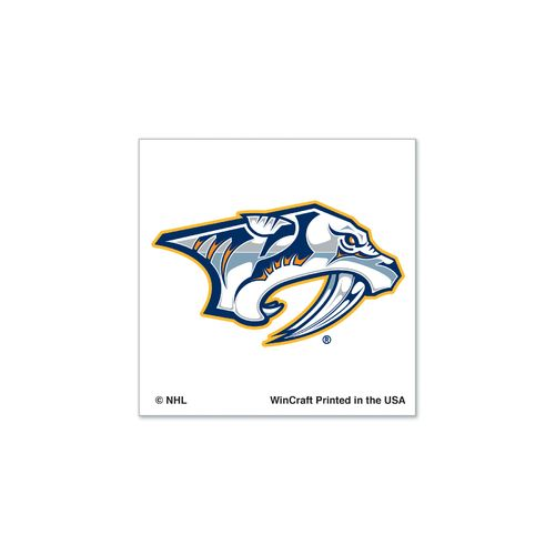 WinCraft Nashville Predators Temporary Tattoos 4-Pack
