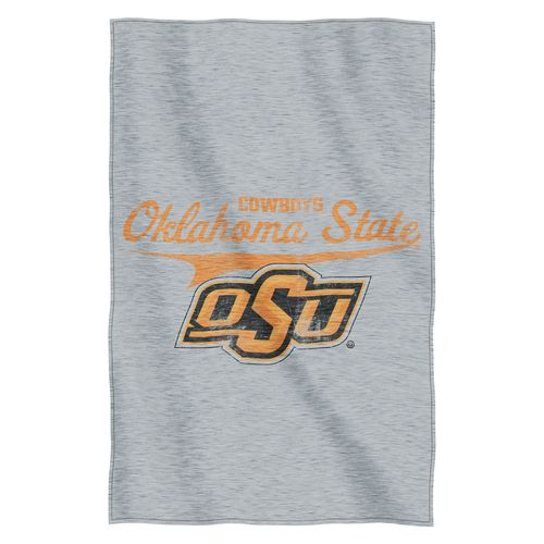 The Northwest Company Oklahoma State University Sweatshirt Throw