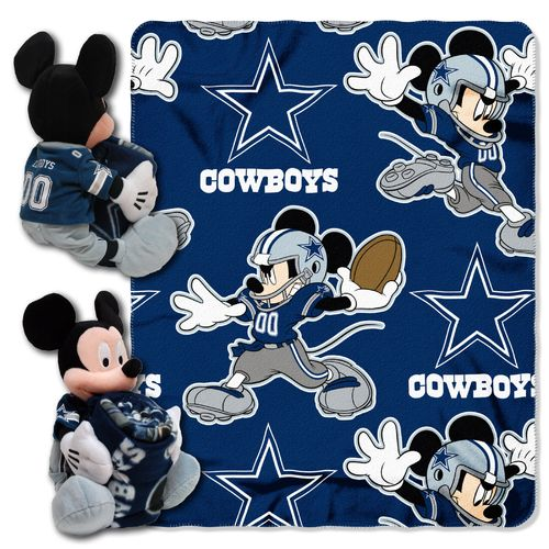 The Northwest Company Dallas Cowboys Mickey Mouse Hugger