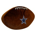 The Northwest Company Dallas Cowboys Football Shaped Plush Pillow - view number 1
