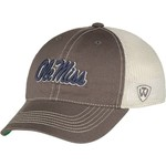 Top of the World Adults' University of Mississippi Putty Cap - view number 1