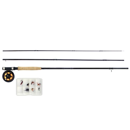 "Display product reviews for NEBO Fine River Fully Loaded 9'3"" Fly Fishing Rod and Reel Combo"