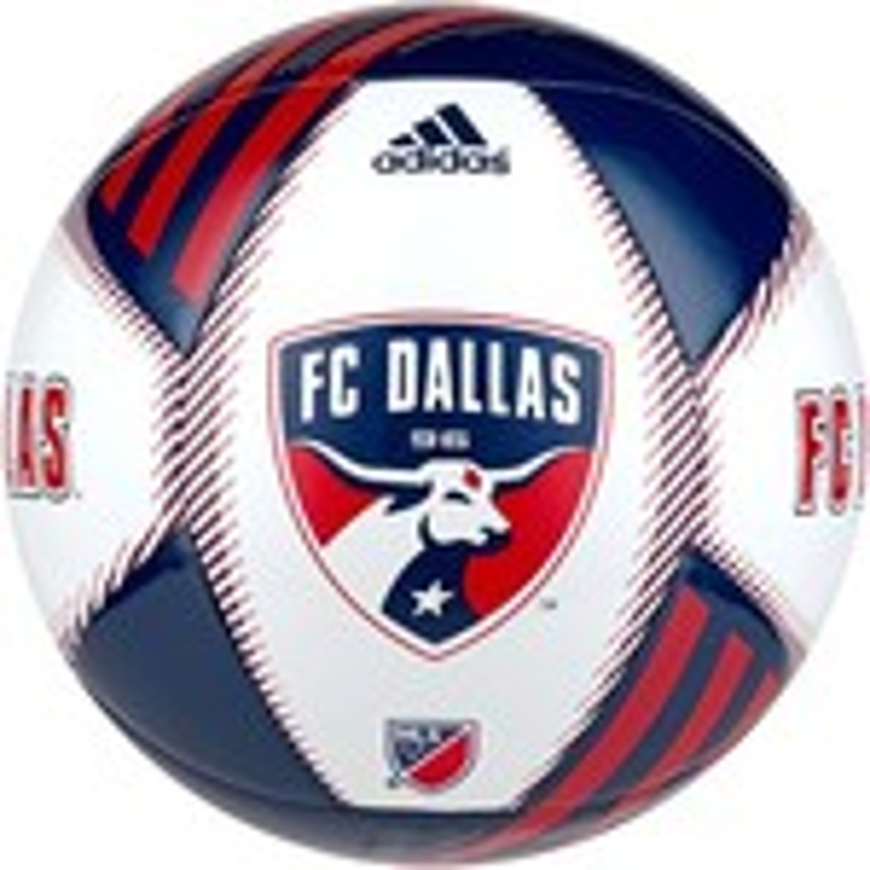 adidas™ FC Dallas Size 5 Soccer Ball