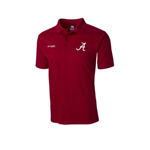 Columbia Sportswear Men's University of Alabama PFG ZERO Rules™ Polo Shirt