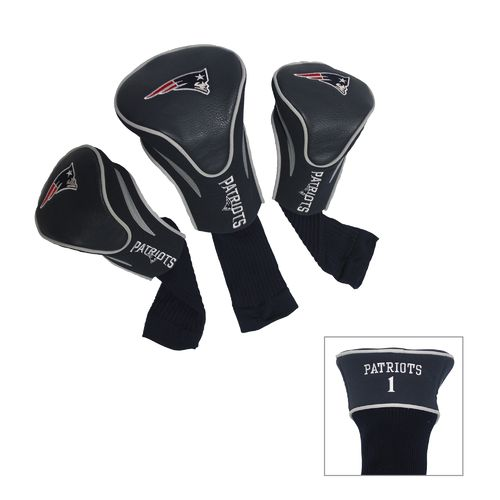 Team Golf New England Patriots Contour Sock Head Covers 3-Pack