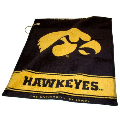 Team Golf University of Iowa Woven Towel