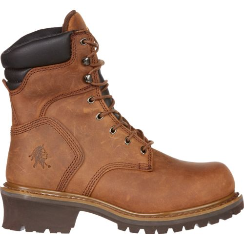 Chippewa Boots® Oblique Steel-Toe Logger Rugged Outdoor Boots