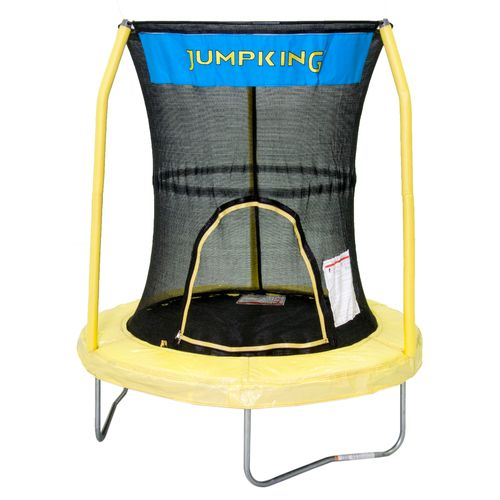 "Jumpking 55"" Round Trampoline with Enclosure"