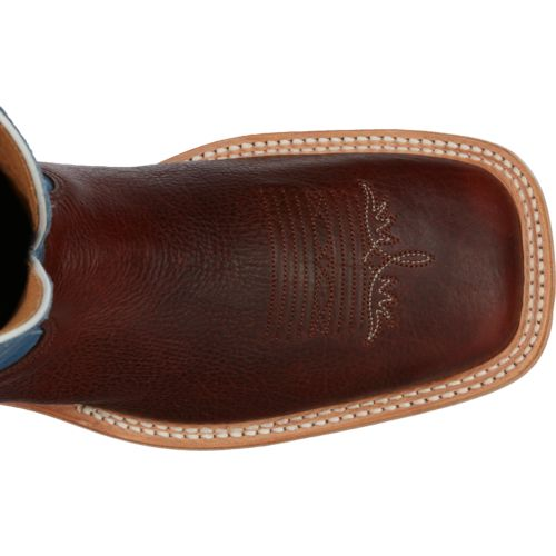 Tony Lama Men's Pecan Bison Americana Western Boots - view number 4