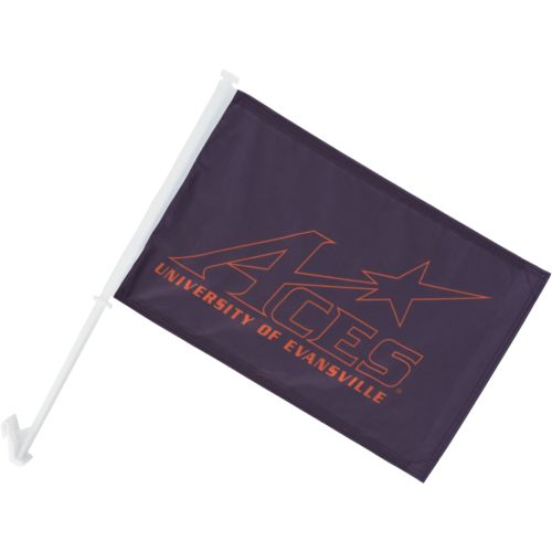 BSI University of Evansville 2-Sided Car Flag