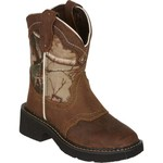 Justin Girls' Aged Bark Gypsy Western Boots - view number 2