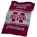 Logo Mississippi State University Ultrasoft Blanket