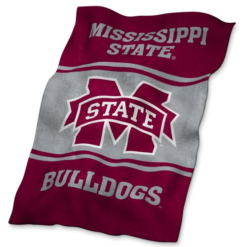 Logo™ Mississippi State University Ultrasoft Blanket