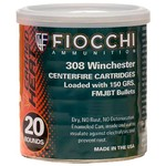 Fiocchi 150-Grain Full Metal Jacket Boat Tail Centerfire Rifle Ammunition - view number 1