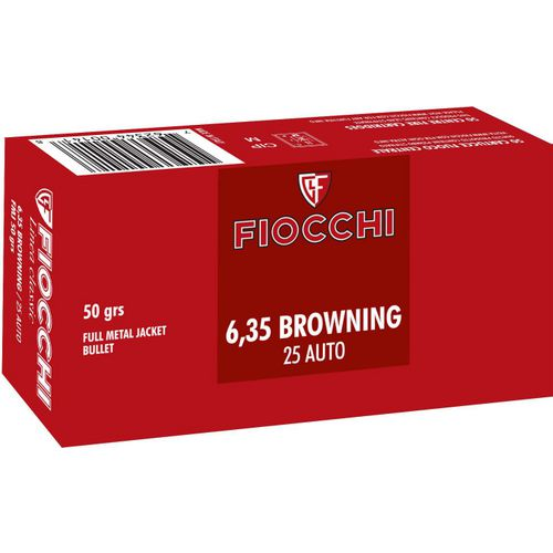 Display product reviews for Fiocchi Pistol Shooting Dynamics .25 ACP 50-Grain Full Metal Jacket Centerfire Handgun Ammunition