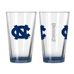 Boelter Brands University of North Carolina Elite 16 oz. Pint Glasses 2-Pack