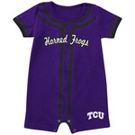 Colosseum Athletics Infants' Texas Christian University Baseball Romper