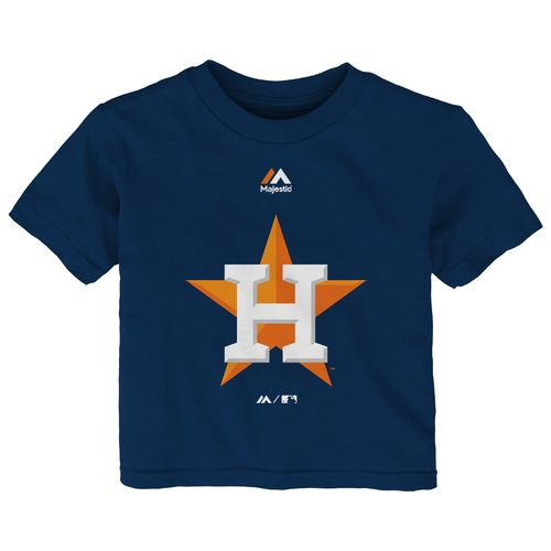 Majestic Infants' Houston Astros Team Logo T-Shirt