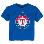 Majestic Toddlers' Texas Rangers Team Logo T-shirt