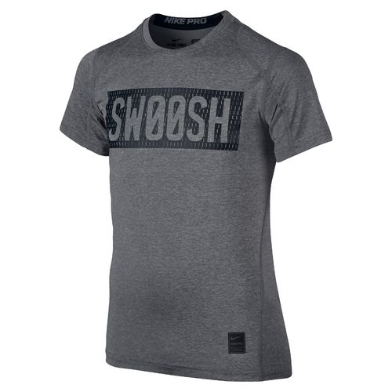 Nike Boys' Hypercool Swoosh Fitted Training T-shirt