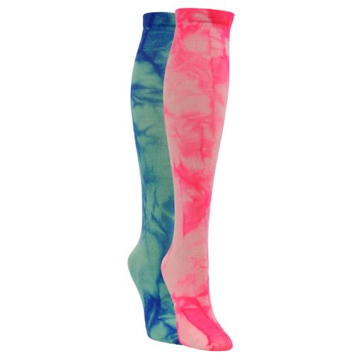 Display product reviews for Sof Sole Allsport Team Knee-High Tie-Dye Socks 2 Pack