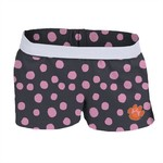 Soffe Girls' Clemson University Printed Authentic Low Rise Short