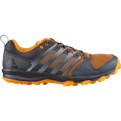 adidas Galaxy Trail Men's Running Shoes in Black/Bright Orange or Black