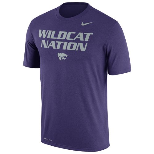 Nike Men's Kansas State University Dri-FIT Legend Authentic Short Sleeve T-shirt