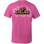 Image One Women's University of Louisiana at Monroe Fireworks Comfort Color T-shirt