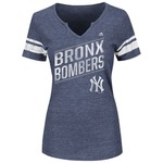 Majestic Women's New York Yankees Success is Earned T-shirt