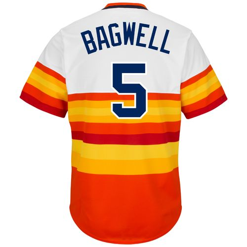 Majestic Men's Houston Astros Jeff Bagwell #5 Cooperstown Replica Jersey