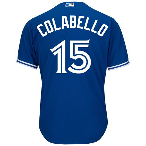 Majestic Men's Toronto Blue Jays Chris Colabello #15 Cool Base Replica Jersey