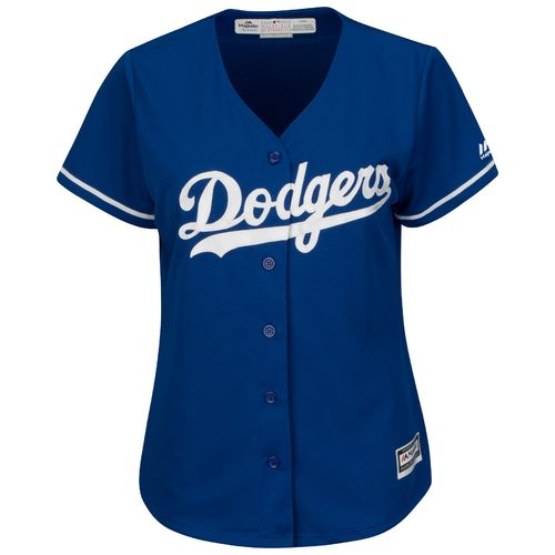 Majestic Women's Los Angeles Dodgers Cool Base Replica Jersey - view number 1