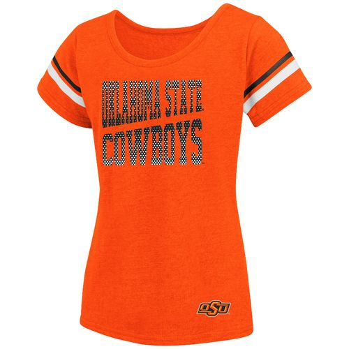 Colosseum Athletics™ Girls' Oklahoma State University Fading Dot
