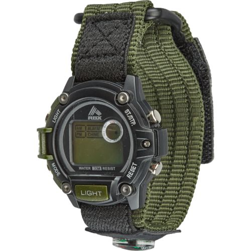 Display product reviews for Academy Sports + Outdoors Men's Fast-Wrap Digital Watch