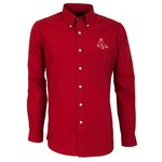Antigua Men's Boston Red Sox Dynasty Long Sleeve Button Down Shirt - view number 1